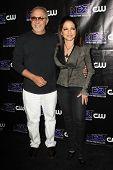 LOS ANGELES - AUG 15: Emilio Estefan, Gloria Estefan at the CW