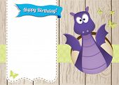Monster-Dragon Invitation Card