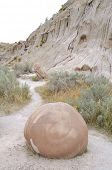 Cannonball Concretions badlands