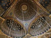 Ceiling Inside Mosque Of Muhammad Ali