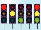 A Set Of Traffic Lights