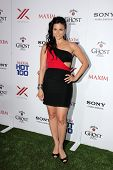 LOS ANGELES - MAY 15:  Katrina Law arrives at the 2013 Maxim Hot 100 Party at the Vanguard on May 15, 2013 in Los Angeles, CA