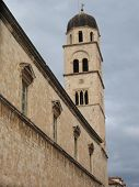 Croatia, Dubrovnik, Franciscan Monastery tower: UNESCO's old town