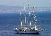 Large Sailboat