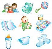 Baby And Nursery Icons