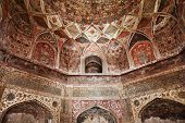 stock photo of cupola  - AGRA INDIA  - JPG