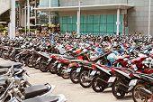 Many Motorbikes