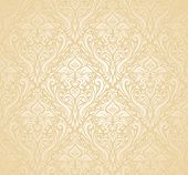 stock photo of hymen  - gentle peach floral Wedding marriage bridal background - JPG