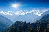 Paisaje del Himalaya, Nepal