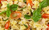 Pasta Salad With Tuna And Cherry Tomatoes
