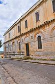 Palacio del seminario. Ugento. Puglia. Italia.