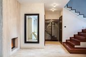 pic of mirror  - Travertine house - JPG