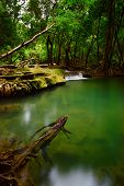Long Exposure Of Si Khit Waterfall In Thailand