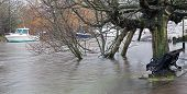 River Stour Flood Uk 2014