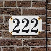 Nummer 222