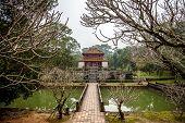 Ming Mang Emperor Tomb in Hue, Vietnam