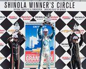Winners Circle, Chevrolet Indy Dual II, held on Belle Isle, Detroit, MI