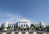 stock photo of yangon  - Yangon City Hall and administration offices - JPG