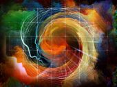 foto of human soul  - Geometry of the Soul series two - JPG