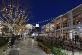 Container Park Shopping Area In Las Vegas, Nv On December 10, 2013
