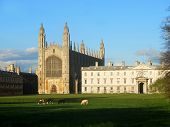 Kings College Chapel Cambridge Uk