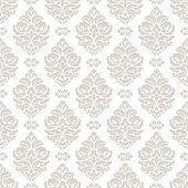 picture of damask  - Damask seamless pattern for design - JPG