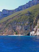 Cala Mariolu beach in Sardinia, Italy