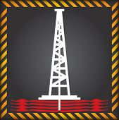 Shale Gas Label - Anti Fracking Label