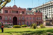 Casa rosada-casa de gobierno