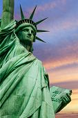 stock photo of statue liberty  - Photo of the Statue of Liberty in New York City - JPG