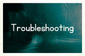 Troubleshooting Concept