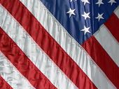 Close-up American Flag