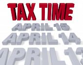 Tax Time Arrives