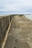 stock photo of anglesey  - The Victorian Breakwater  - JPG