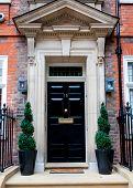 Traditional English Victorian Front Door