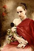 a rose queen