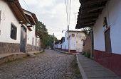 Tapalpa Streets And Homes