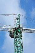 Construction tower crane