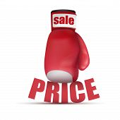 Beat Cheap prices. Boxing glove.