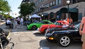 1996, 1964, And 1995 Porsches At Rolling Sculpture Show 2013