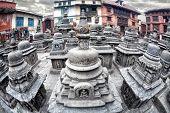 Stupas In Swayambhunath