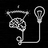 Invention - electricity of brain light bulb and electric voltage