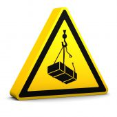 Overhead Loads Sign