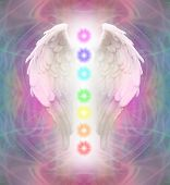 Angel Wings and Chakras