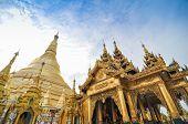 RANGOON MYANMAR - 11 October 2013 : Shwedagon Paya Pagoda, Yangon, Myanmar