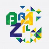 Trendy geometric of Brazil