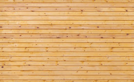 stock photo of uncolored  - Uncolored new wooden wall background photo texture - JPG