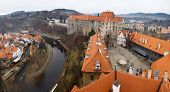 The Old Town Of Cesky Krumlov, Czech Republic