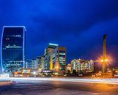 Baku - MAY 27, 2014: Port Baku on May 27 in Azerbaijan, Baku. Port Baku is new office development in Baku