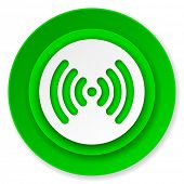 wifi icon, wireless network sign